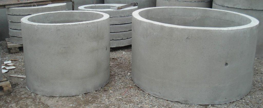 Бетонные кольца: характеристики, сфера применения