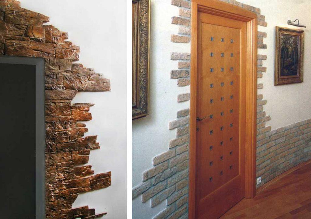 Варианты отделки дверей в квартиру