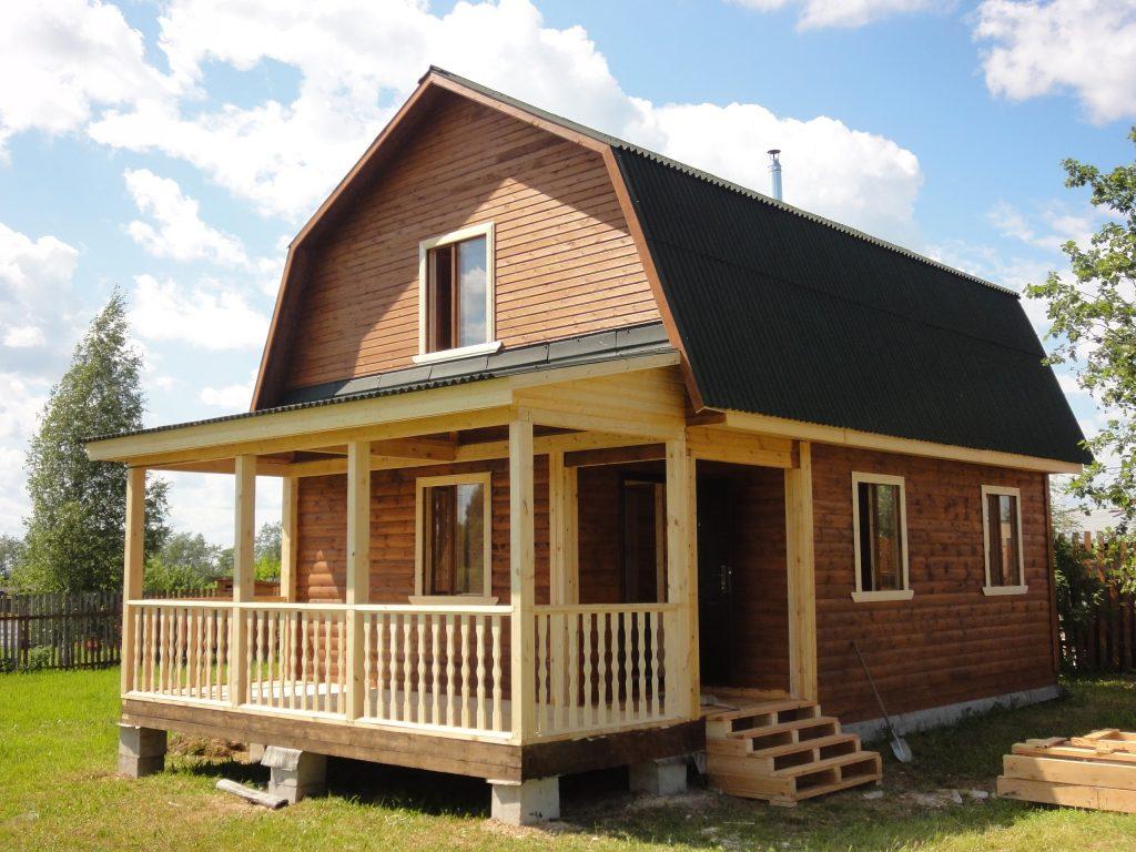 Красивые и качественные дома из бруса